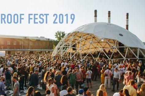 Roof Fest до конца сентября примет более 40 концертов!