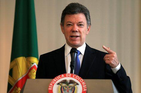 Президент Колумбии обвинил президента Венесуэлы в покрытии террористов и наркоторговцев
