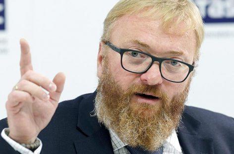 Милонов предложил ввести правила поведения для иностранных артистов