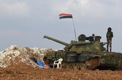 Сирийский город Манбидж под контролем российских военных