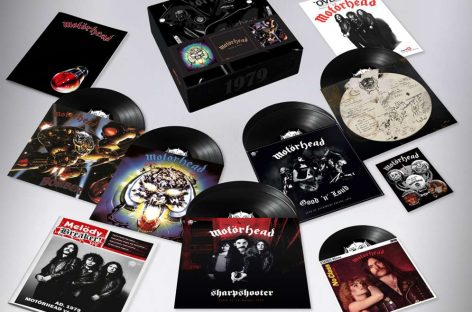 Motörhead представили свой новый бокс-сет из семи дисков