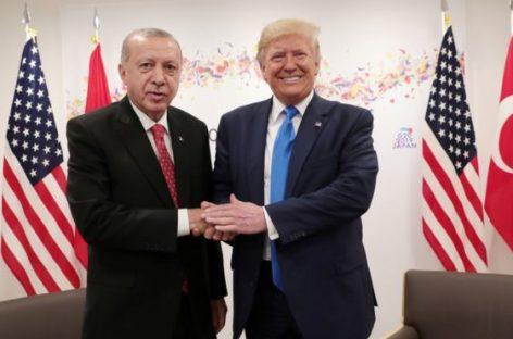 Трамп решил договориться с Эрдоганом