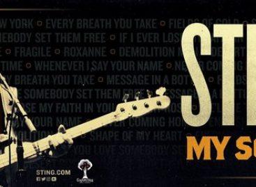 Sting готовится к масштабному летнему туру с «My Songs»