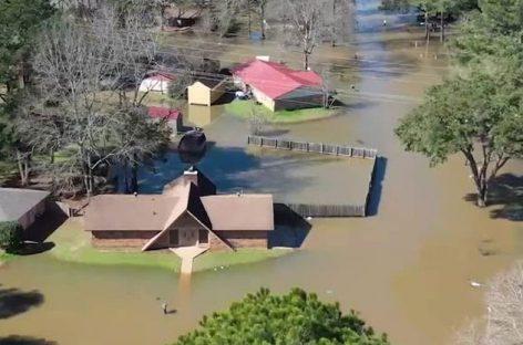 Наводнение в штате Миссисипи