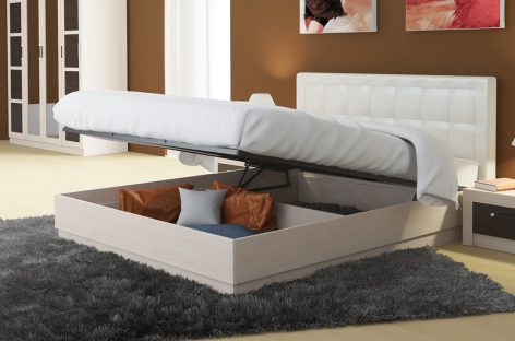 Кровать с подъёмным механизмом: ключевые нюансы выбора