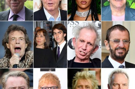 Sunday Times назвало имена самых богатых музыкантов Великобритании