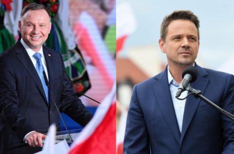 Данные экзитполов по выборам в Польше