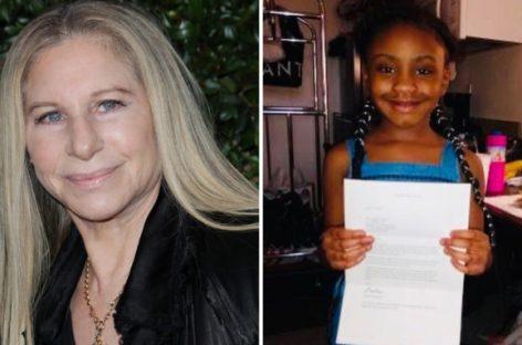 Барбра Стрейзанд подарила подарки дочери убитого афроамериканца Флойда
