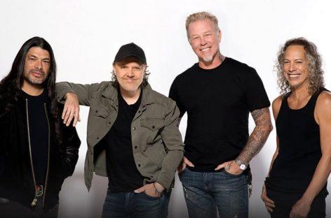 Metallica работает над новым музыкальным материалом