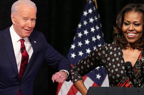 Мишель Обама призвала голосовать за Байдена