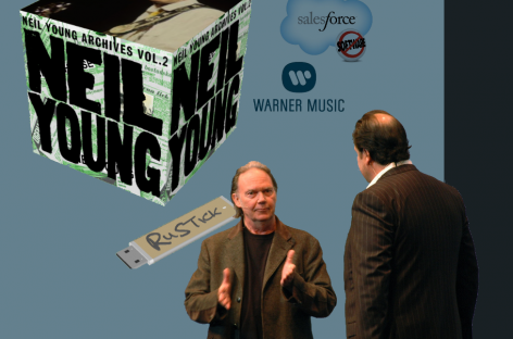 Нил Янг готовит к релизу сборник «Archives Vol. 2»