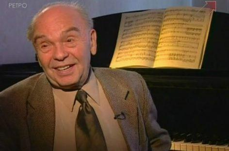 В феврале пройдет большой концерт в честь 95-летия Владимира Шаинского