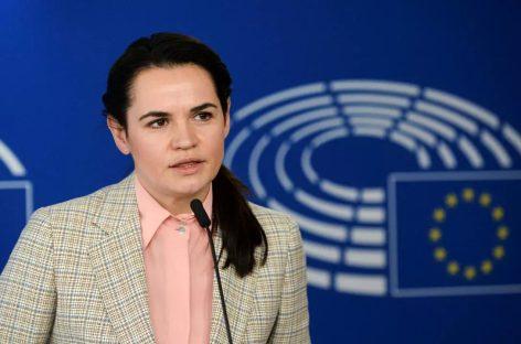 Тихановская считает, что Европа не может урегулировать ситуацию в Беларуси