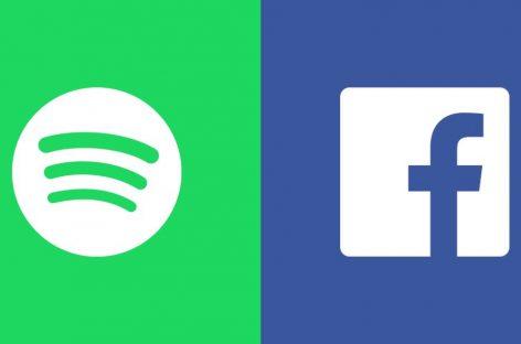 Facebook упростил доступ к Spotify
