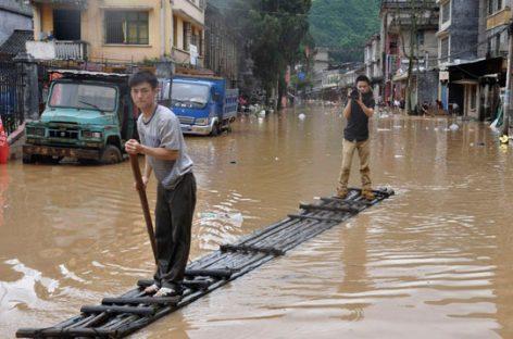 Стихийные бедствия нанесли колоссальный ущерб китайской экономике