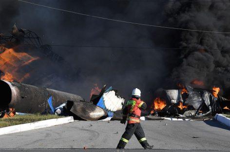 Пожар на автозаправке в Новосибирске: последние данные по пострадавшим