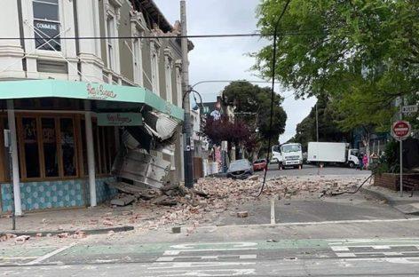 В Австралии произошло мощное землетрясение