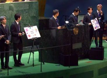 BTS в третий раз зажгли в ООН