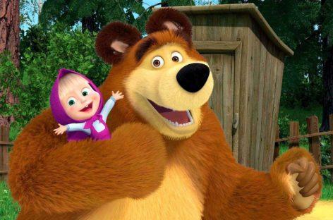 «Маша и Медведь» продолжает бить рекорды!